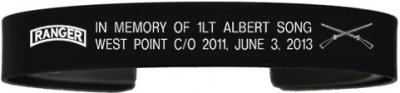 1LT Albert Song Memorial Bracelets